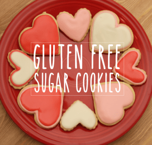 Gluten free sugar cookies valentinesday, All She Cooks