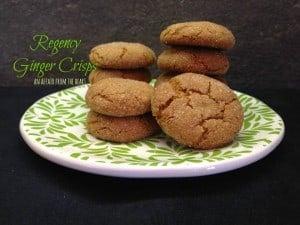 Regency ginger crisps, An Affair from the Heart