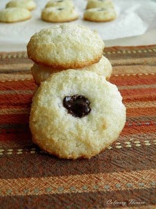 Coconut cookies, Culinary Flavors