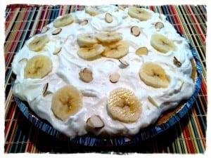 Banana coconut cream pie, Rachel's Basic Bites