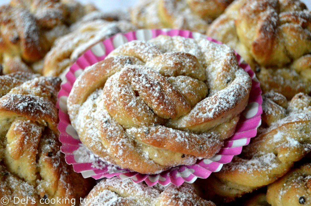 Authentic Swedish Cardamom Buns (learn why you should use a pre-dough ...