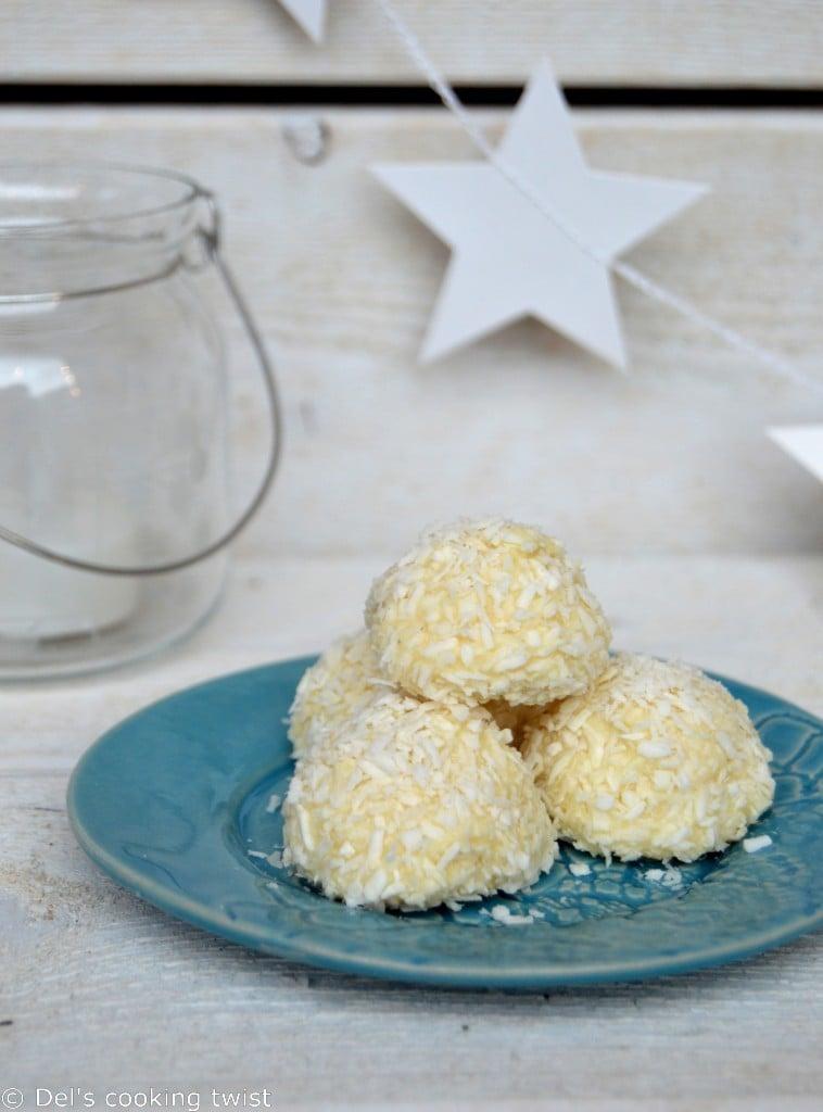 Coconut Snowballs Recipe — Dishmaps