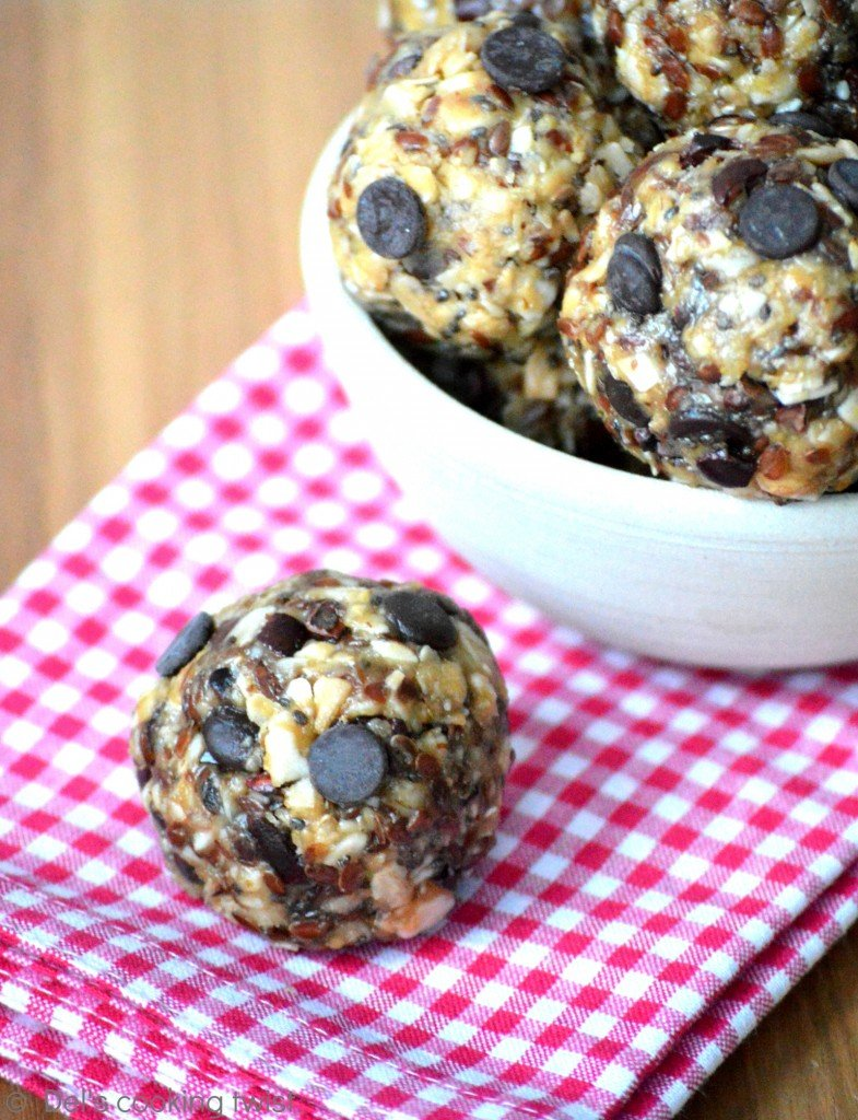 Healthy No Bake Energy Bites