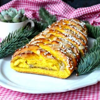 Swedish Saffron Braided Bread