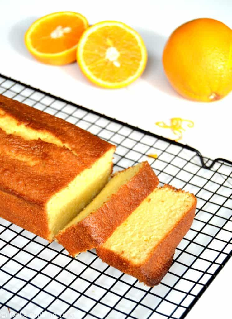 Orange Pound Cake — Del\'s cooking twist