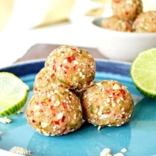 Raw Spicy Lime Bites