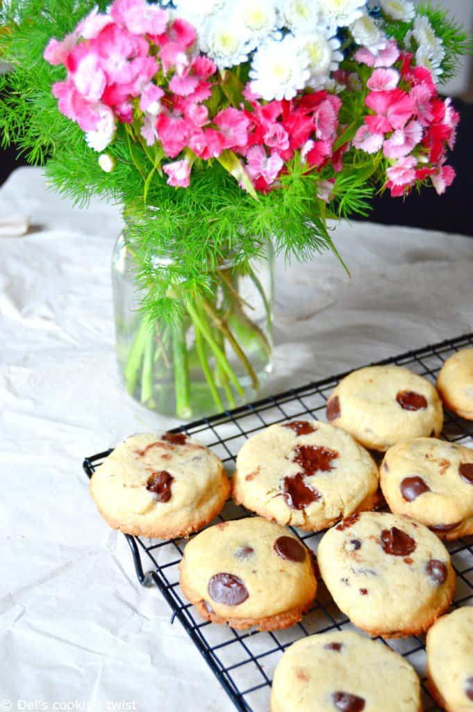 Chocolate Chip Shortbread Cookies_0028