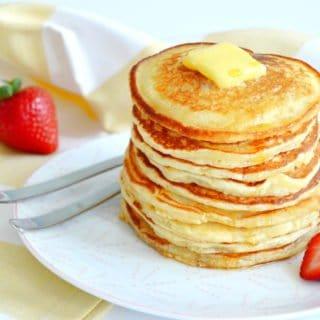 Pancakes américains faciles et très moelleux