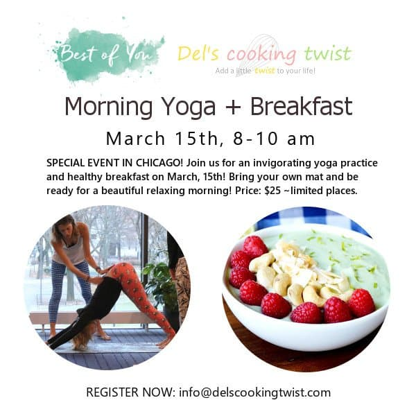 Morning Yoga and Breakfast