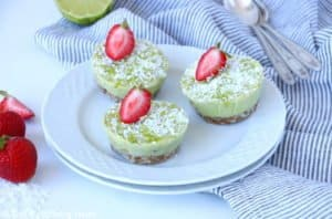 Mini Healthy Key Lime Pies