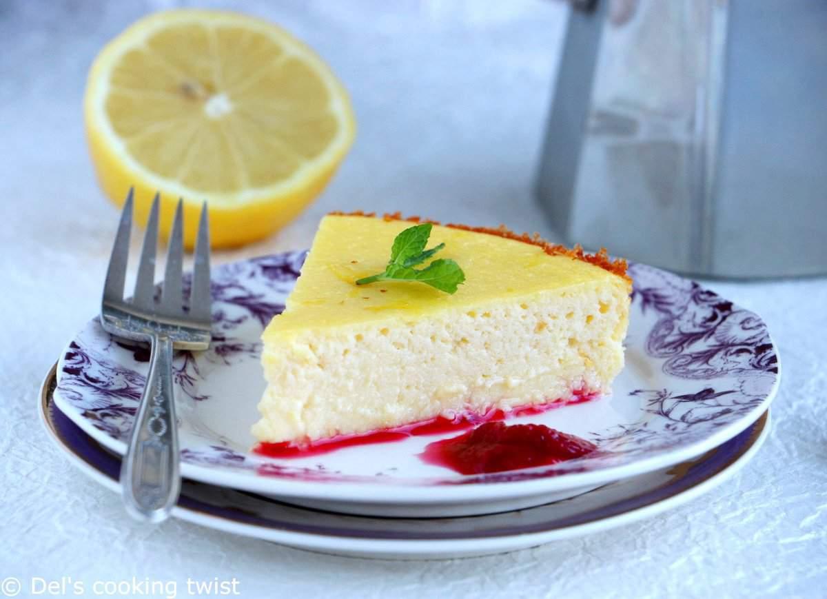 Fiadone Style Cheesecake