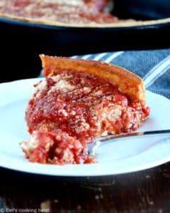 La vraie Deep Dish Pizza de Chicago
