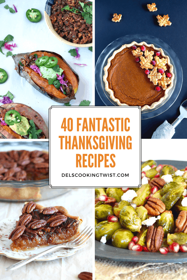 40 fantastic Thanksgiving recipes