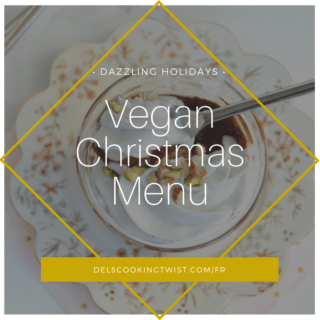 Vegan Christmas Menu 2018