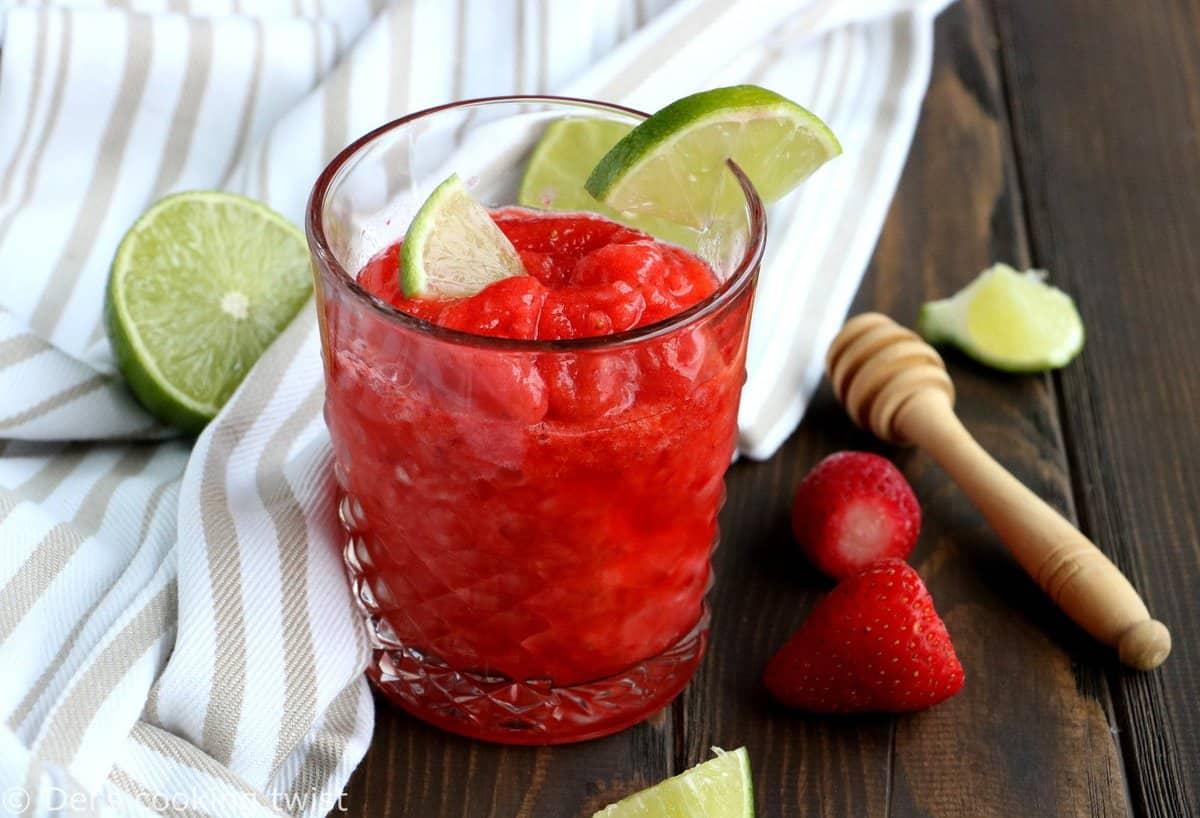 Strawberry Daiquiri with Cardamom