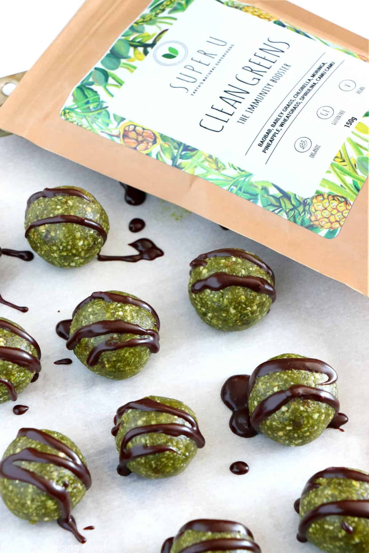 Superfood Green Energy Balls