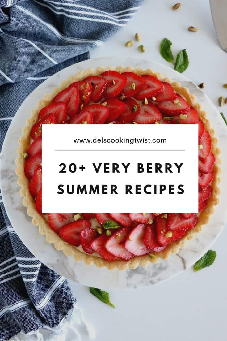 20 verry berry summer recipes