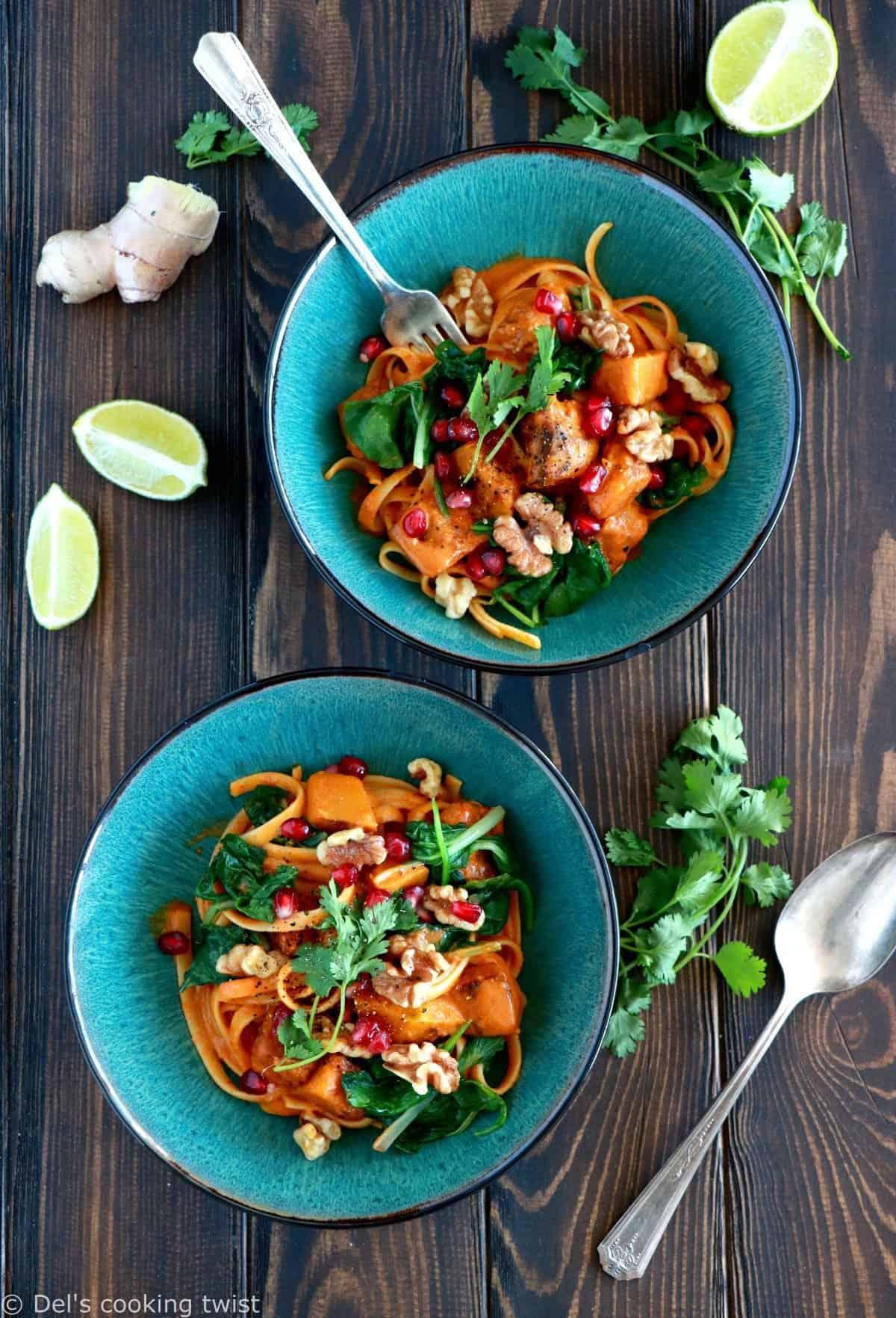 Curry Thaï au lait de coco et potimarron