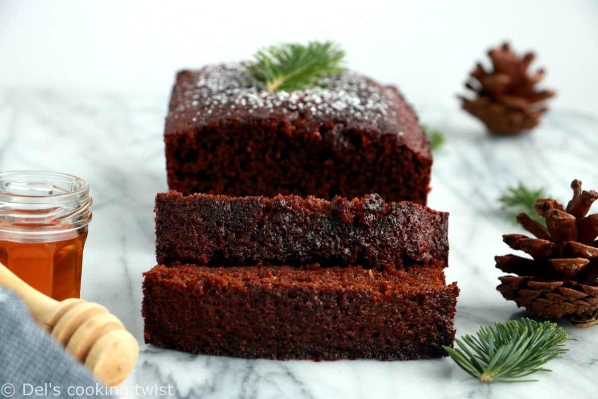 Super Moist Gingerbread Cake