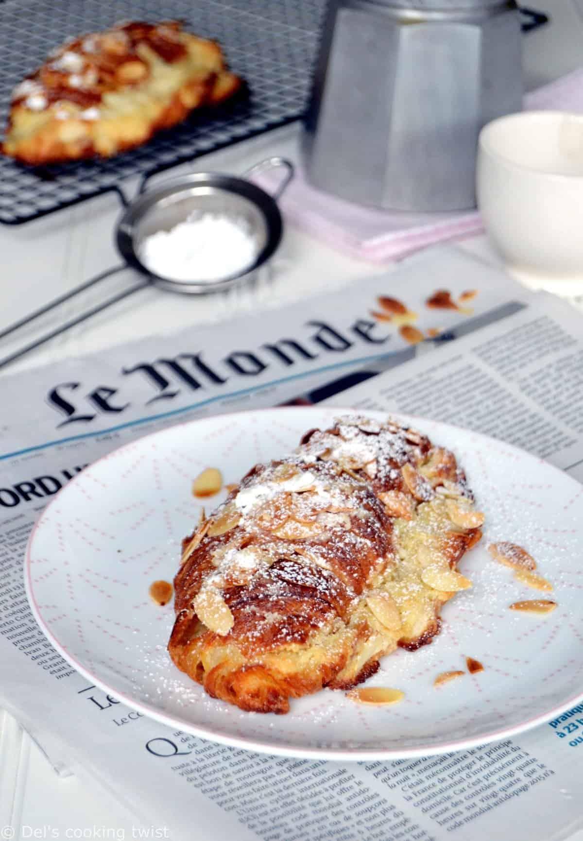 Croissants aux amandes (recette facile)