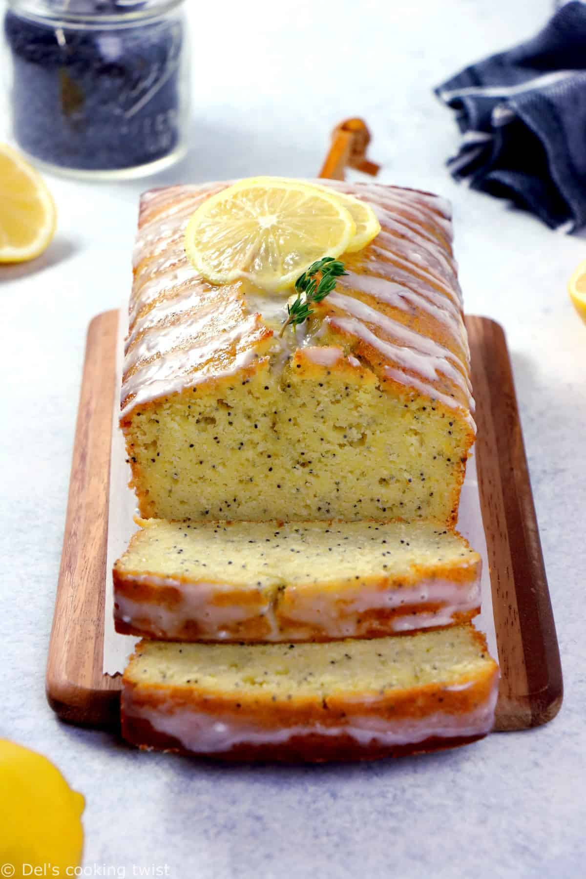 Best Ever Lemon Poppy Seed Loaf is perfectly moist and tender, packed with delicious lemony flavors and sprinkled with just the right amount of poppy seeds.