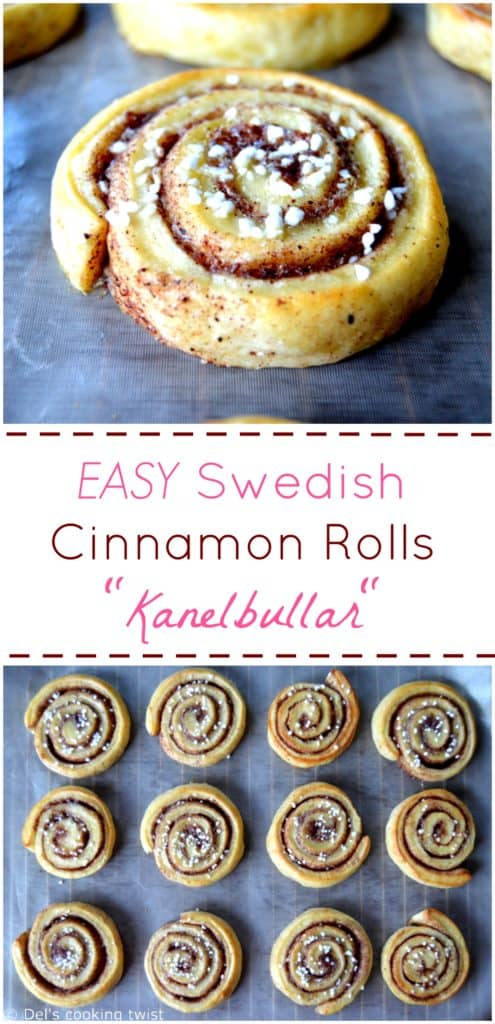 Best EASY Swedish Cinnamon Rolls Kanelbullar
