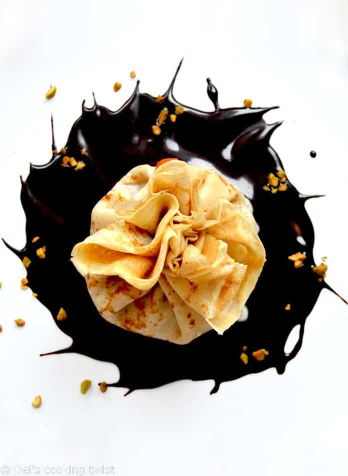 Chocolate Mango Coco filled Beggars Purses