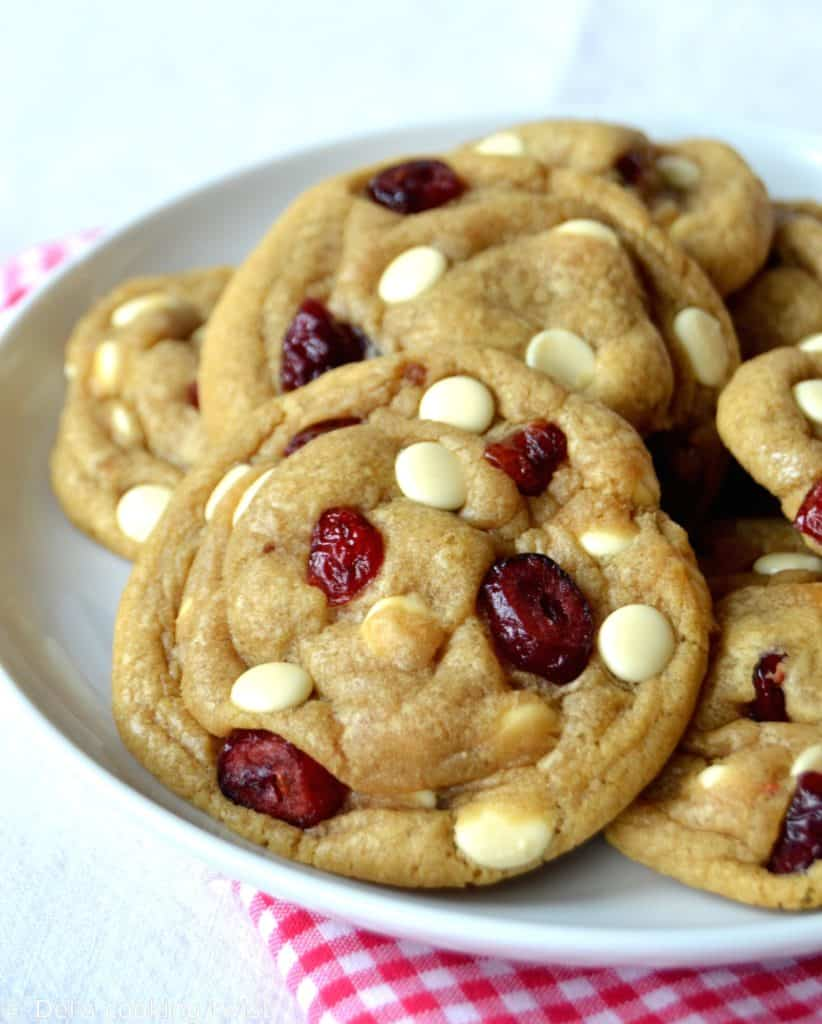 White chocolate cranberry cookies2bis