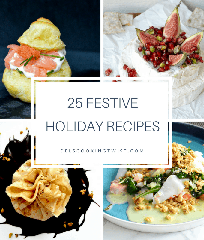 25 festive holiday recipes