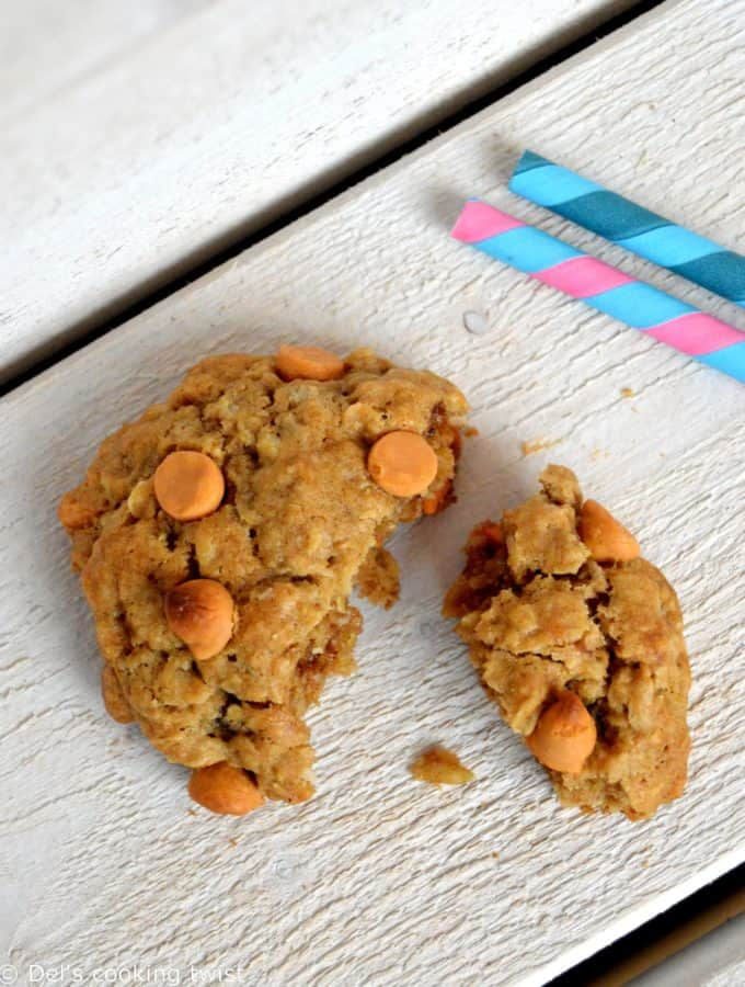 American Butterscotch Oatmeal Cookies