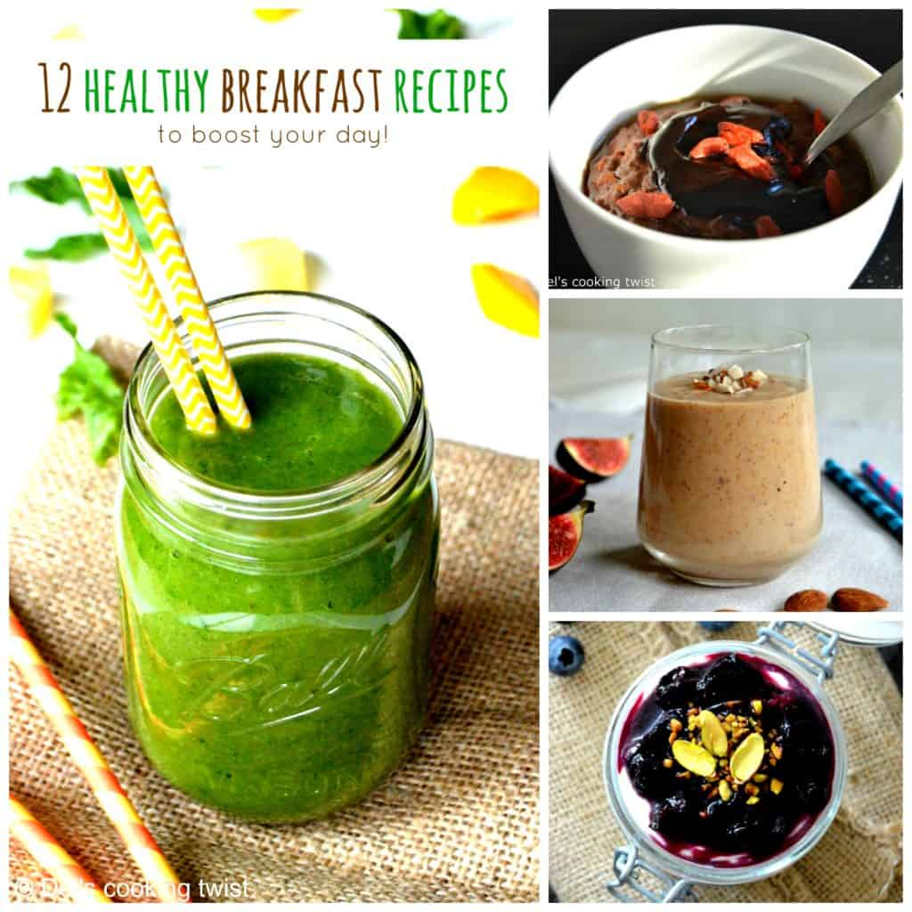 12 healthy breakfast recipes