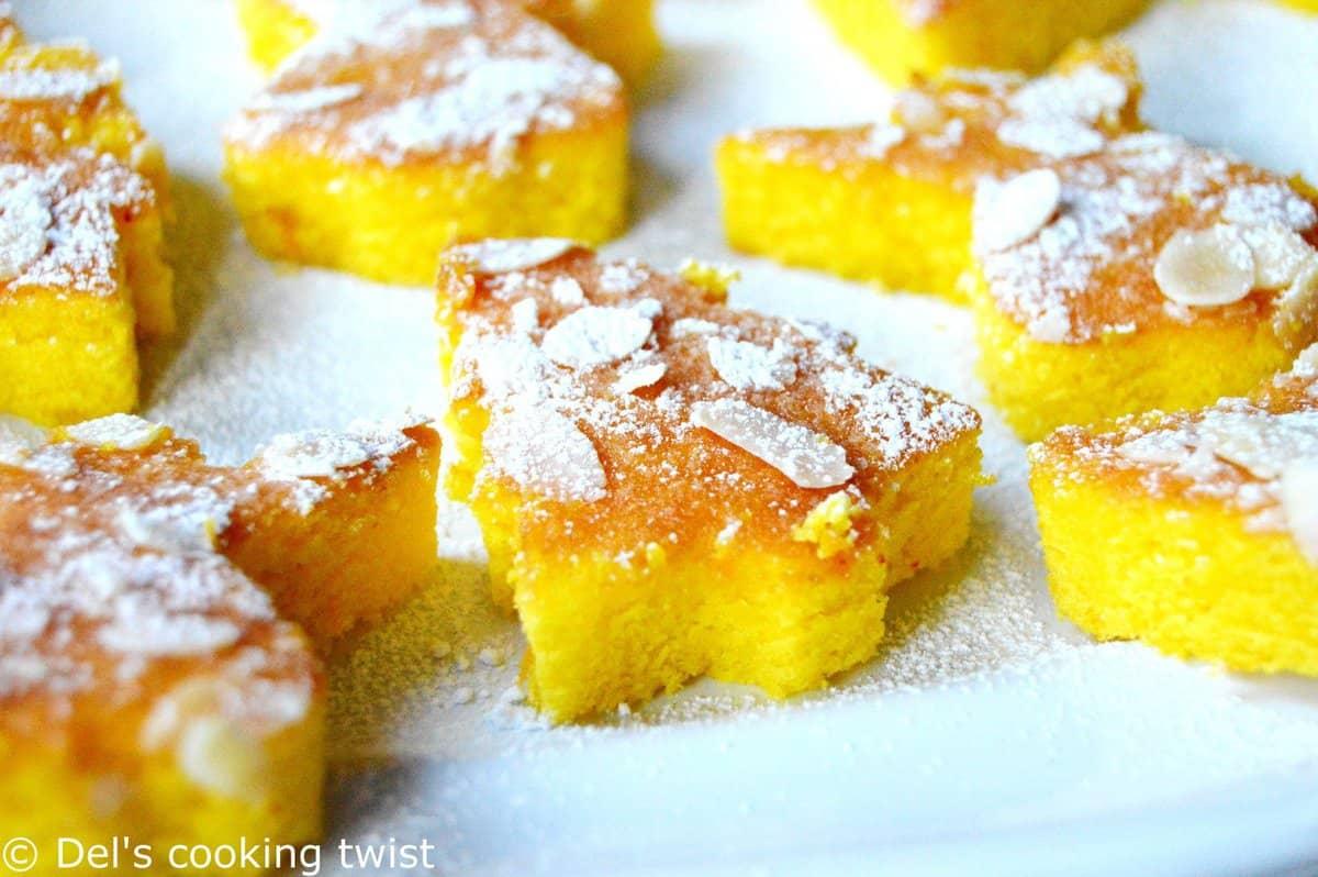 Moist Mini Orange Amp Saffron Cakes Del S Cooking Twist