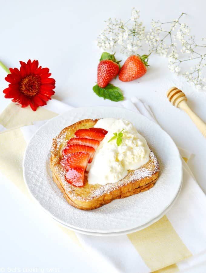 Strawberry French Toasts