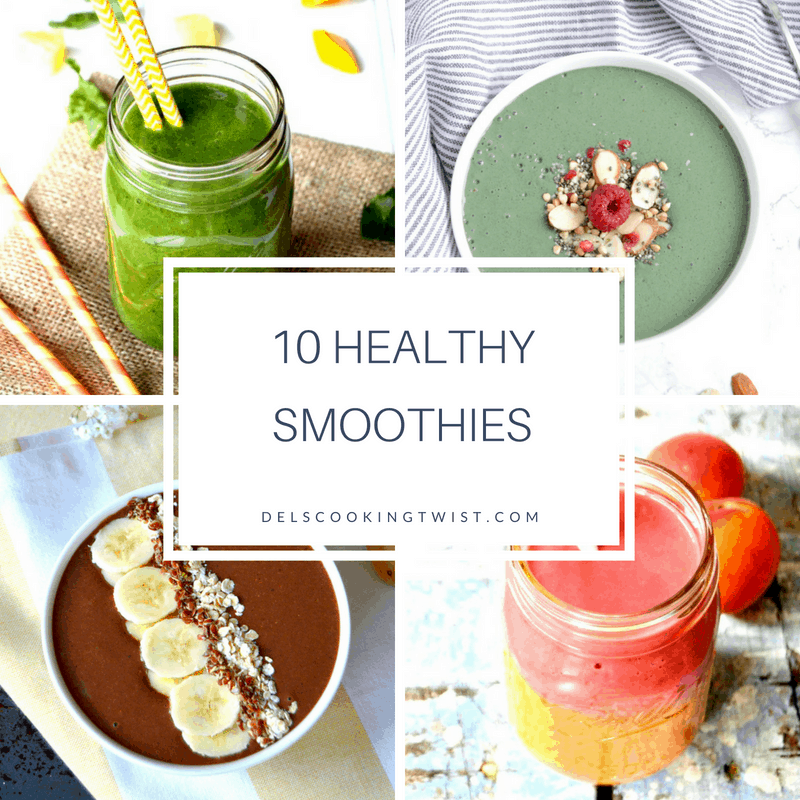 10 Healthy smoothies