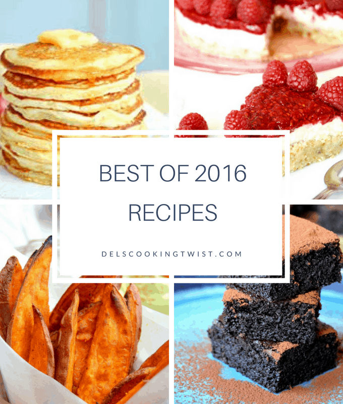 Top 10 2016 recipes