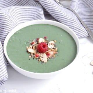 Mon smoothie bowl à la spiruline préféré