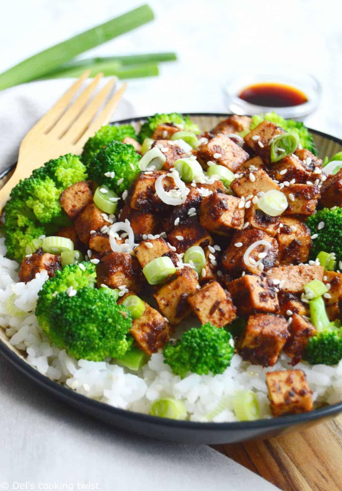 Asian Tofu Broccoli Stir Fry