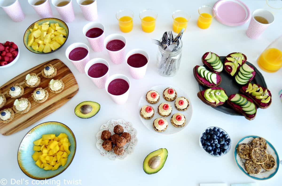 Morning yoga breakfast