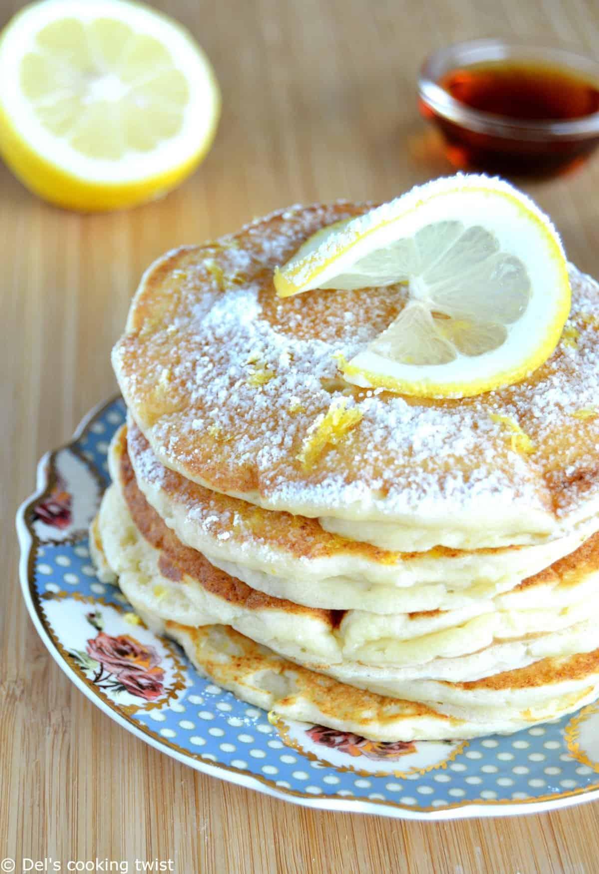 Ultra Moist Lemon Ricotta Pancakes