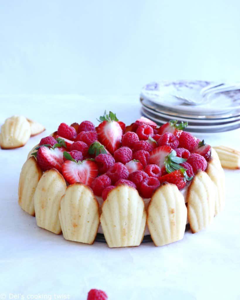 Madeleine Cake Chocolate Filling Recipe