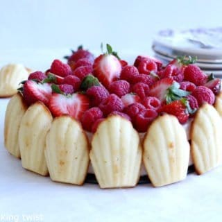 Madeleine Strawberry Charlotte