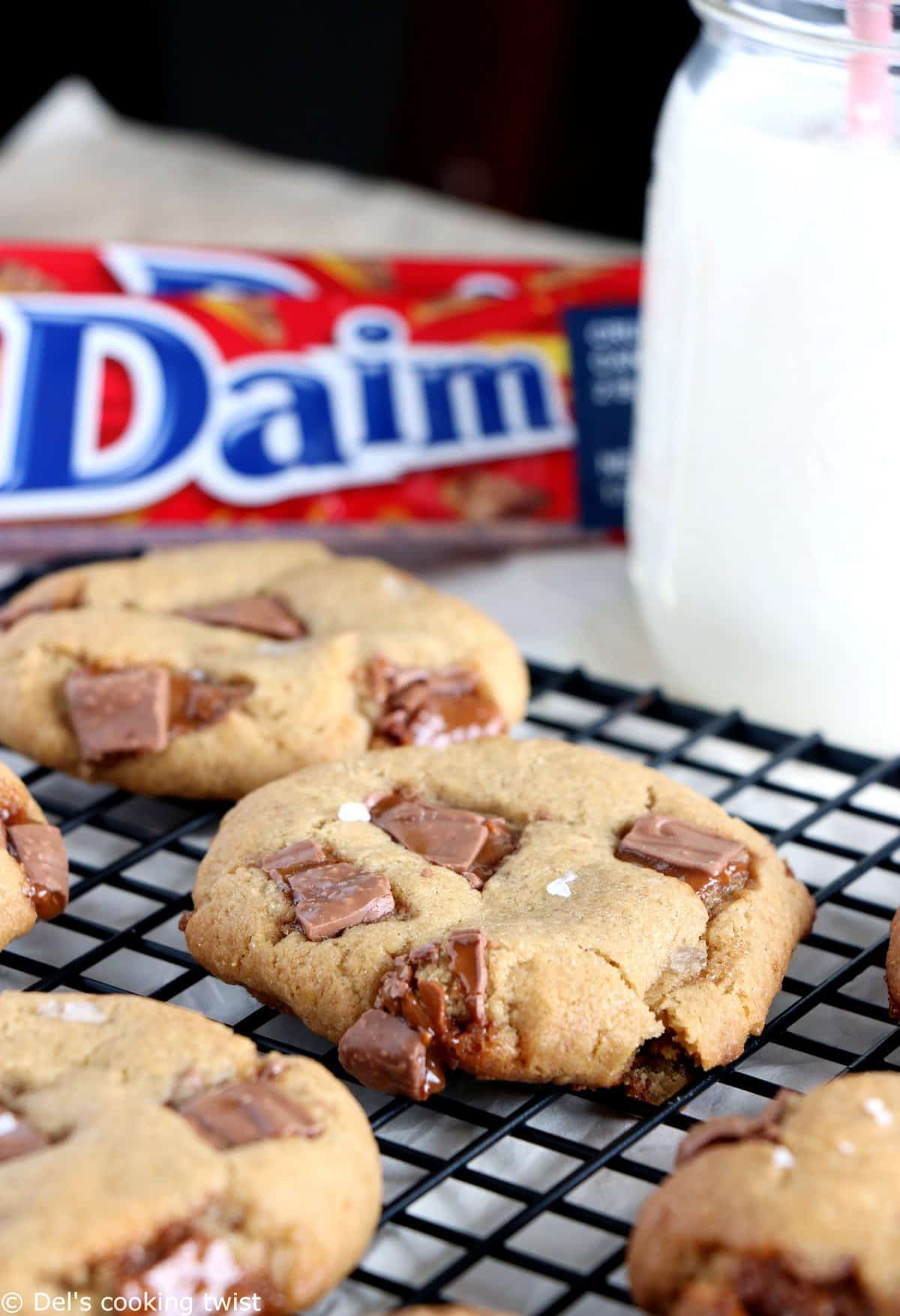 Daim Bar Cookies