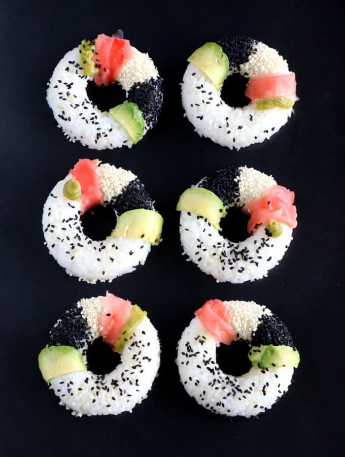 Sushi donuts {+a giveaway!}
