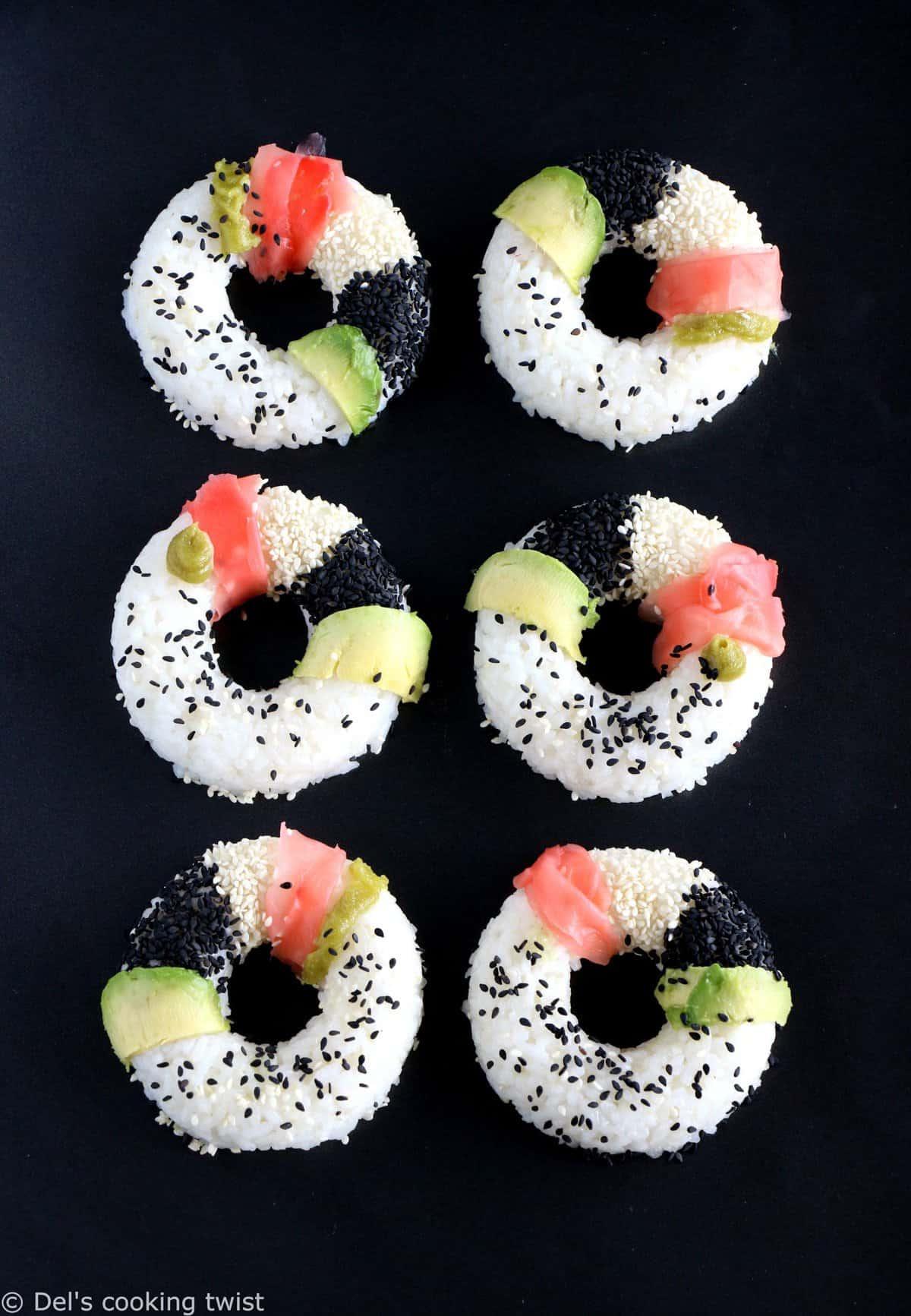 Sushi donuts (+ un concours!)