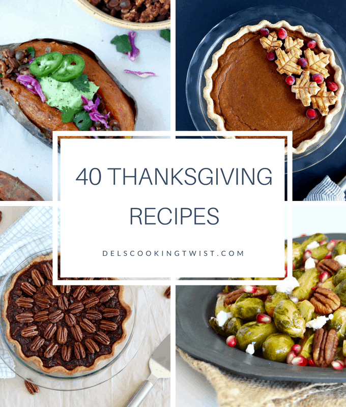 40 Thanksgiving recipes