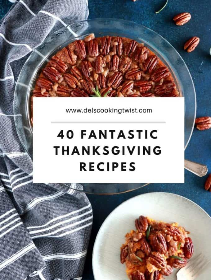 Discover 40 fantastic Thanksgiving recipes to make your table even more yummy! Between classic American recipes, healthy versions, sweet and savory options, everyone will find their favorites!