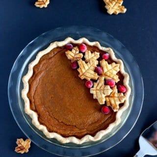 Classic American Pumpkin Pie
