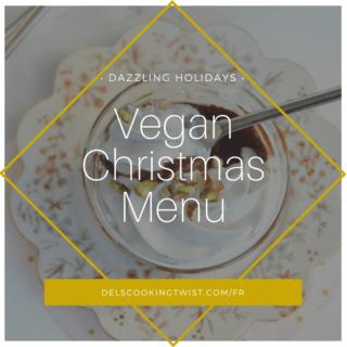 Vegan Christmas Menu 2018