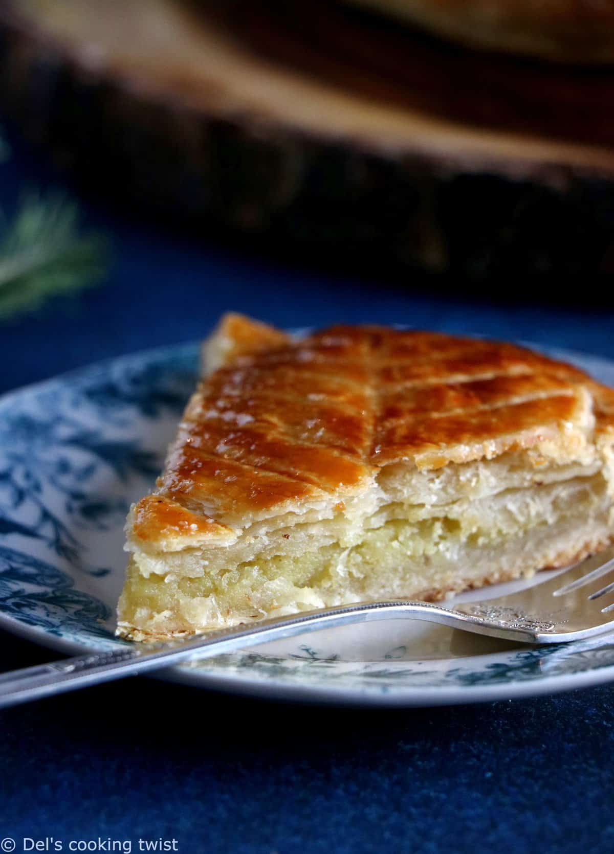 French Galette des Rois with Tonka Bean