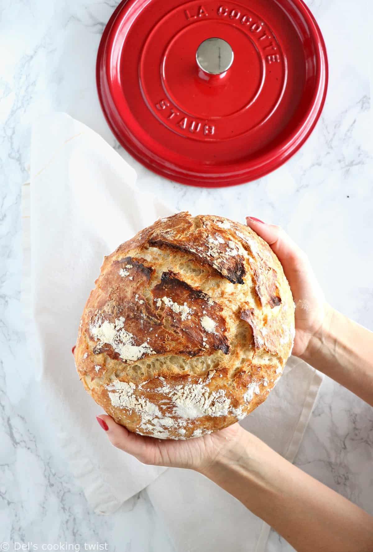 Le pain cocotte en 5 recettes
